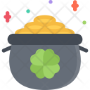 Pot Leprechaun Gold Icon