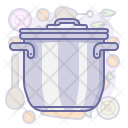 Lid Pot Cook Icon