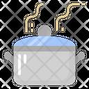 Pot Hot Boil Icon