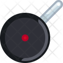 Pot Frying Kitchen Icon
