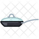Pot Frying Kitchen Icon
