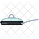 Pot Grill Pan Icon