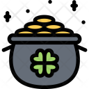 Pot Leprechaun Myth Icon