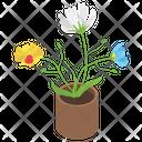 Pot Plant Houseplant Leaf Plant Icon