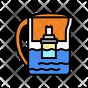 Pot Water Water Filter Pot Icon