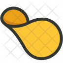 Potato Chips Snack Icon