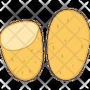 Potato Vegetable Diet Icon