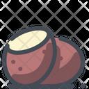 Potato Vegetable Organic Icon