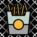 Potato Food Fries Icon