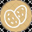 Potato Carbs Root Icon