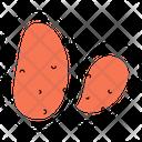 Potato Spud Tater Icon