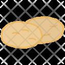Potato Starch Carbs Icon