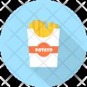 Potato Restaurant Concept Icon