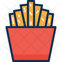 Potato Chips French Fries Chips Icon