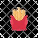 Potato Fries French Fries Frites Icon