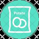 Potato Sack Potato Pack Potato Bag Icon