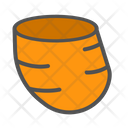 Potato Slice Potato Vegetarian Icon