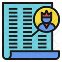 Clients Customers List Icon