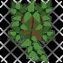 Pothos Potted Plant Icon
