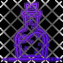 Potion Bottle Herb Bottle Icon