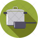 Pots Kitchen Cooking Icon