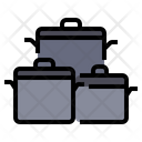 Pots Cooking Boil Icon