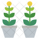 Potted Pottedplant Garden Icon