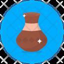 Pottery Urn Ceramic Vessel Vassel Icon