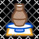 Vase Pottery Wheel Icon