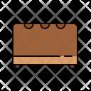 Pouffe Furniture Icon