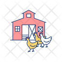 Poultry Farm Icon