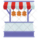 Poultry Stall Icon