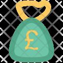 Pound Sack Money Icon