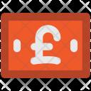 Pound British Note Icon