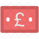 Pound Note Banknote Icon