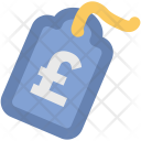 Pound Tag Label Icon