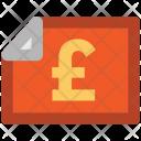 Pound Statement Bank Icon