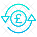 Pound Currency Money Exchange Icon