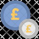 Pound Coins Sack Icon
