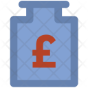 Pound Currency Finance Icon