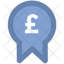 Pound Badge Currency Icon