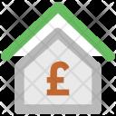 Pound British Home Icon