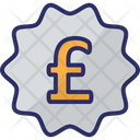 Pound Pound Currency British Currency Icon