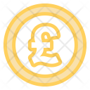Pound Coin Sterling Icon