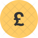 Pound Currency Gbp Icon