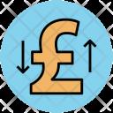 Pound Sign Raising Icon