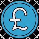 English Pound Cash Icon