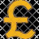 Business Finance Pound Icon