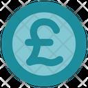 Pound Coin Money Icon