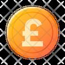 Pounds Currency Pound Euro Icon